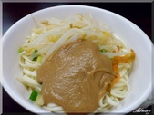年初五騎車環社子島:香芝麻醬麵,味道不錯,很香~