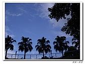 20100819蔚藍的天空 澄澄的夕陽:IMGP0591.JPG
