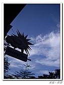 20100819蔚藍的天空 澄澄的夕陽:IMGP0597.JPG