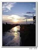 20100819蔚藍的天空 澄澄的夕陽:IMGP0607.JPG