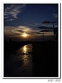 20100819蔚藍的天空 澄澄的夕陽:IMGP0608.JPG