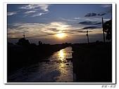 20100819蔚藍的天空 澄澄的夕陽:IMGP0609.JPG