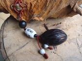 種子飾品:狐尾椰子種子吊飾