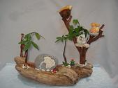 手工藝品:漂流木花器DIY DSC06607.JPG