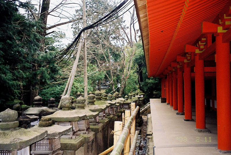 奈良小記:漂亮的長廊
