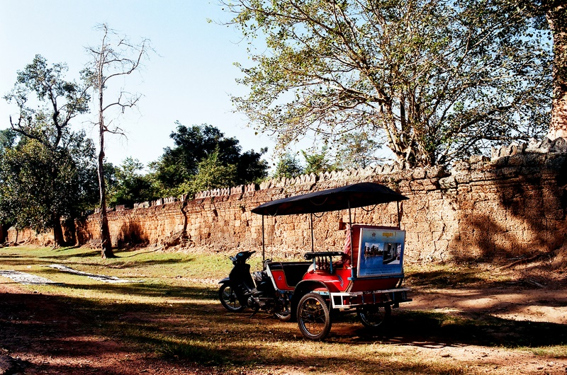 吳哥行(底片):Tutu車