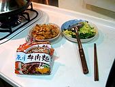 炒泡麵聚會:炒麵食材合照