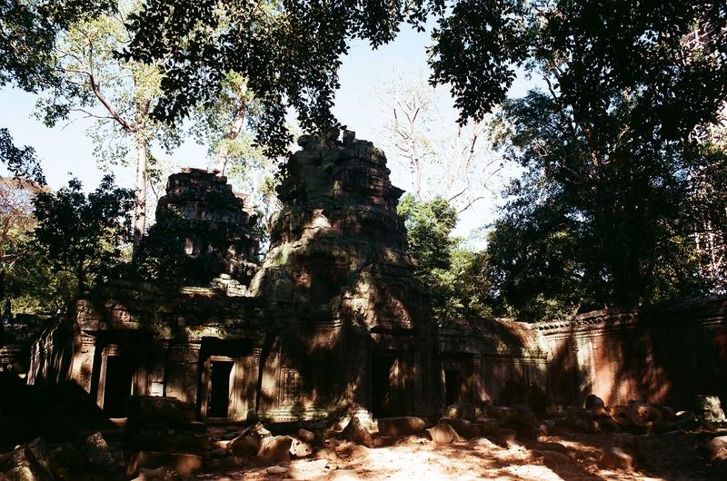 吳哥行(底片):塔普倫寺