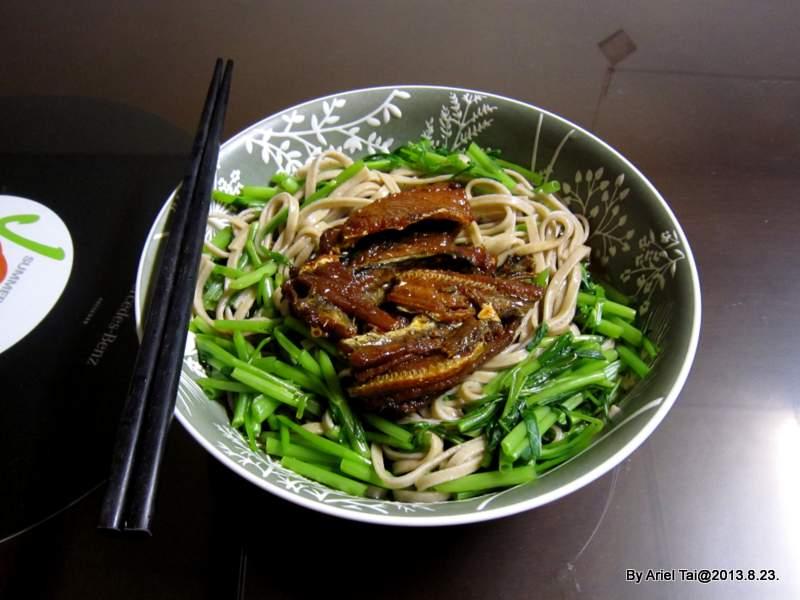 102年傻瓜菜:和風鰻魚涼麵