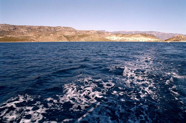 土耳其之旅:海水藍得像藍墨水