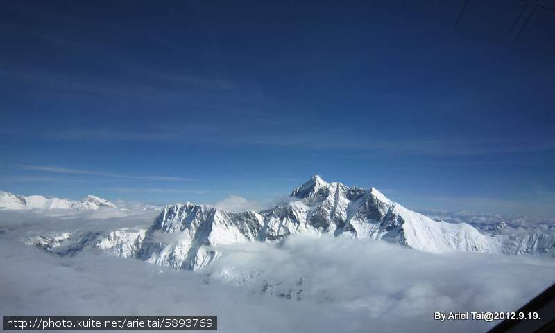 101尼泊爾之行─珠峰:退遠一點看Everest Mountain