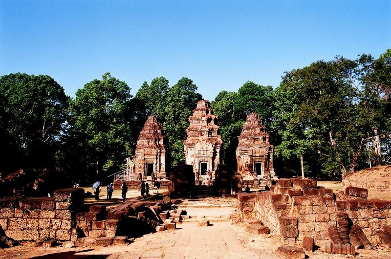 吳哥行(底片):Preah Ko神牛寺