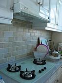 2008 新家照:我家廚房~是三商美福的作品(壁磚是自己挑的)