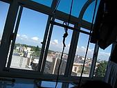 2008 新家照:我家晾衣台的view~看就知冬天會超冷的~~~