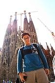 蜜月-西班牙-人物:聖家族教堂