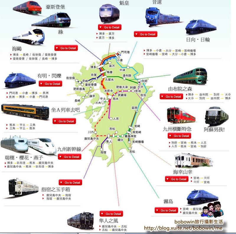 日本九州福岡機場交通+JR PASS購買:九州火車.jpg