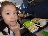 日本東京之旅98年:涵涵的全日空兒童餐 98.8.23