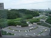 日本東京之旅98年:馬可波羅MARROAD飯店房間窗外風景 98.8.23