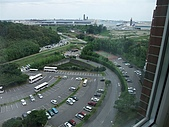 日本東京之旅98年:成田馬可波羅MARROAD飯店窗外風景 98.8.23