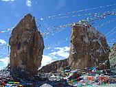 西藏呀!西藏!:納木措-佛掌石