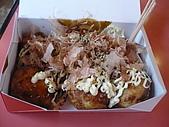大阪消遙五日DAY1:好吃的章魚燒