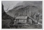我的作品~素描:秋瑟/炭筆素描/4K