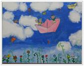 學生作品~繪畫:油畫~想飛的夢