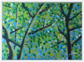 學生作品~繪畫:油畫~樹