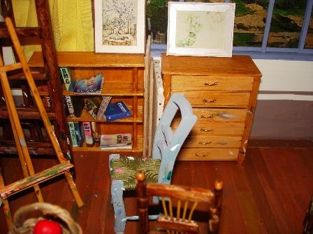 我的作品~袖珍藝術:塞尚畫室-2
