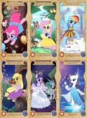 食玩:Mane6 as Disney Princesses.jpg