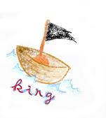 草稿繪製成的彩色稿>0:King海盜船.jpg
