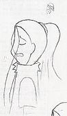 觸手─手繪系列:唉聲歎氣的巴儀.jpg