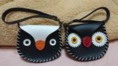 皮革縫製:企鵝VS貓頭鷹