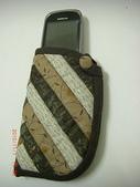 非玩布可:喜佳機縫拼布初級2-斜紋手機袋