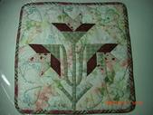 非玩布可:曼布初級作品7-百合花壁飾