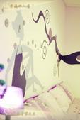 民宿房間。四人房型照片:澎湖民宿幸福之家四人房。少女情懷 (21).JPG