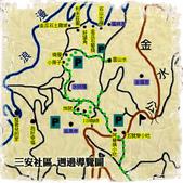 台灣美景:台灣-金瓜石地圖02