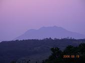 台灣美景:台北陽明山:頂山夕陽及風櫃嘴觀星03