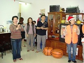 聖誕節報佳音2007/12/21:巫雙發弟兄家