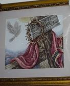 加恩義賣品:精美十字鏽+木板框=5000