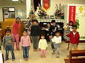 兒童小組:聖誕節獻詩