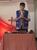 歡送馬約翰牧師感恩奉獻禮拜:Rev. John S. McCall