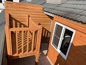 木屋:南方松木結構架高露臺