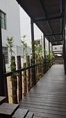 木屋:迴廊地板及景觀