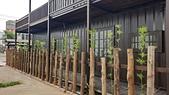 木屋:天然木圍籬