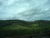 蜜月旅行之 托斯卡納的豔陽下97/04/09-10:到西恩那SIENA 的途中
