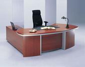 木製主管桌:ED-218 (花梨色)