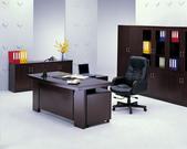 木製主管桌:ED-217 (胡桃色)