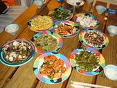 9706高墾旅(墾丁海神堡):滿桌的菜都自己煮的