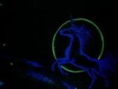 趙畫師的星空壁畫作品--獨角獸特寫:獨角獸3